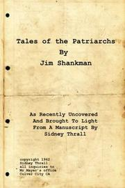 TALES OF THE PATRIARCHS by Jim  Shankman