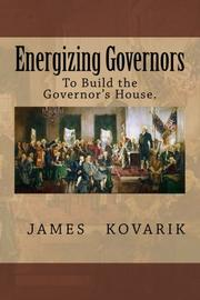 ENERGIZING GOVERNORS by James Kovarik