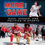 MORE THAN A GAME by Matt Doeden