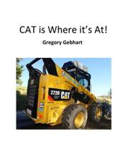 CAT IS WHERE IT'S AT! by Gregory Gebhart