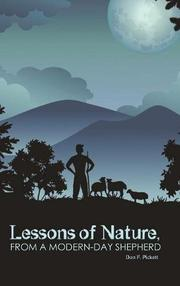 LESSONS OF NATURE, FROM A MODERN-DAY SHEPHERD by Don F. Pickett