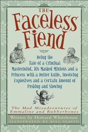 Cover art for THE FACELESS FIEND