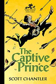 Cover art for THE CAPTIVE PRINCE