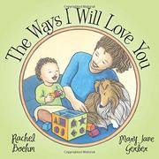THE WAYS I WILL LOVE YOU by Rachel Boehm