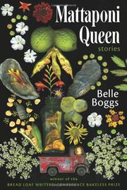 MATTAPONI QUEEN by Belle Boggs