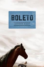 BOLETO by Alyson Hagy
