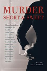 MURDER SHORT & SWEET by Paul D. Staudohar