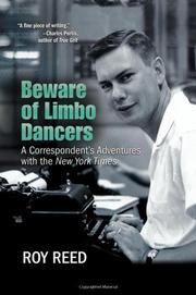 Book Cover for BEWARE OF LIMBO DANCERS