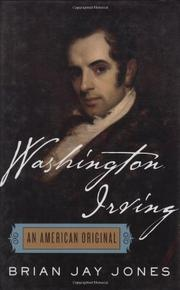 WASHINGTON IRVING by Brian Jay Jones