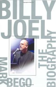BILLY JOEL by Mark Bego