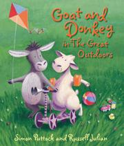 GOAT AND DONKEY IN THE GREAT OUTDOORS by Simon Puttock