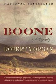 BOONE by Robert Morgan