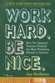 Cover art for WORK HARD. BE NICE.