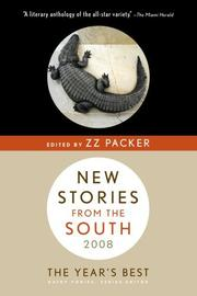 NEW STORIES FROM THE SOUTH by ZZ Packer