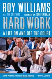 HARD WORK by Roy Williams