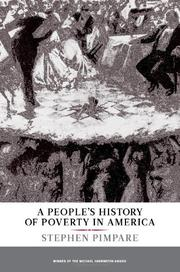 A PEOPLE'S HISTORY OF POVERTY IN AMERICA by Stephen Pimpare