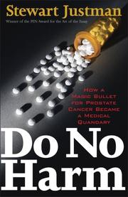 DO NO HARM by Stewart Justman