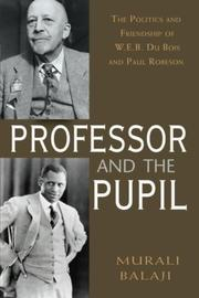 THE PROFESSOR AND THE PUPIL by Murali Balaji