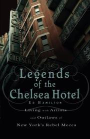 Cover art for LEGENDS OF THE CHELSEA HOTEL
