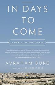 IN DAYS TO COME by Avraham Burg