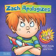 Book Cover for ZACH APOLOGIZES