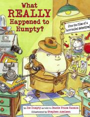 WHAT REALLY HAPPENED TO HUMPTY? by Jeanie Franz Ransom