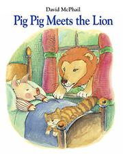 Cover art for PIG PIG MEETS THE LION