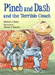 Cover art for PINCH AND DASH AND THE TERRIBLE COUCH