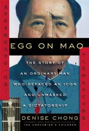 Cover art for EGG ON MAO