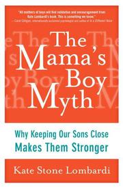 Book Cover for THE MAMA'S BOY MYTH