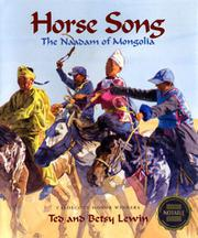 HORSE SONG by Ted Lewin