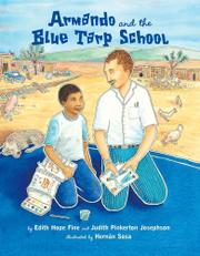 Cover art for ARMANDO AND THE BLUE TARP SCHOOL