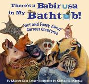Book Cover for THERE'S A BABIRUSA IN MY BATHTUB!