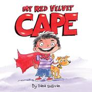 MY RED VELVET CAPE by Dana Sullivan