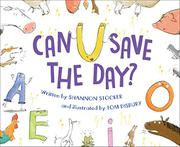 CAN U SAVE THE DAY? by Shannon Stocker