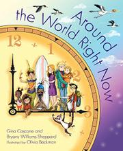 AROUND THE WORLD RIGHT NOW by Gina Cascone