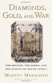 Cover art for DIAMONDS, GOLD AND WAR