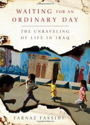 WAITING FOR AN ORDINARY DAY by Farnaz Fassihi