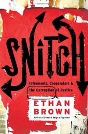 SNITCH by Ethan Brown