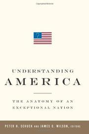 UNDERSTANDING AMERICA by Peter H.  Schuck