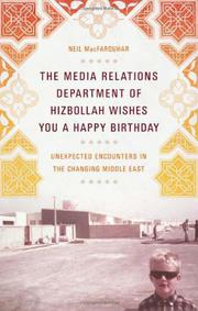 Book Cover for THE MEDIA RELATIONS DEPARTMENT OF HIZBOLLAH WISHES YOU A HAPPY BIRTHDAY