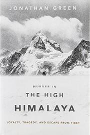 MURDER IN THE HIGH HIMALAYA by Jonathan Green