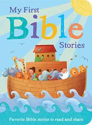 MY FIRST BIBLE STORIES by Little Tiger Press