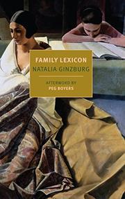A FAMILY LEXICON by Natalia Ginzburg