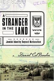 A STRANGER IN THE LAND by Daniel Cil Brecher
