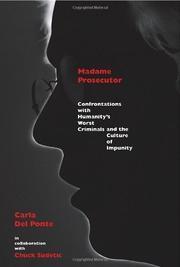 MADAME PROSECUTOR by Carla Del Ponte