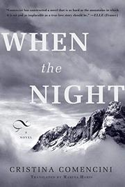 Cover art for WHEN THE NIGHT