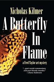 Cover art for A BUTTERFLY IN FLAME