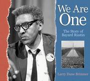 WE ARE ONE by Larry Dane Brimner