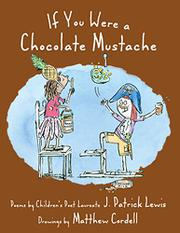 Book Cover for IF YOU WERE A CHOCOLATE MUSTACHE